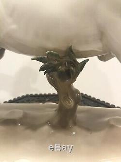 1915 Nymphenburg Porcelain Rare Leaping Stallion Horse Figurine Huge 532 Karner