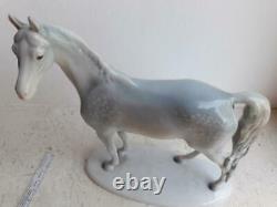 1930 Germany Vintage Original Porcelain figurine horse Metzler & Ortloff marked