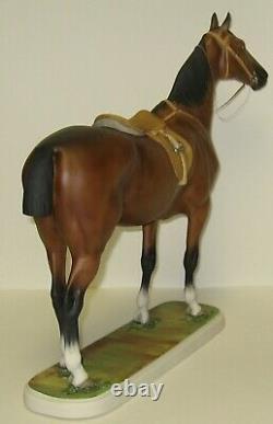 1952 Limited Edition Boehm Porcelain HORSE Sculpture BAY HUNTER 203