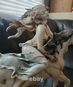 1992 Giuseppe Armani Florence Figurine Liberty Lady withHorse 903C Limited Edition