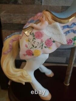 1992 Limited Edition Lenox Porcelain Carousel Horse The Victorian Romance