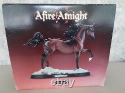 2005-2006 Breyer Afire Atnight Glazed Bay Porcelain Arabian Sommer Prosser COA