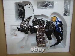 2007 BreyerFest Special Run Doctor Zhivago Black Pinto Porcelain ASB 550 Pcs