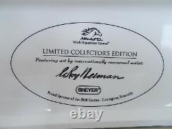 2010 Breyer Collector WEG World Equestrian Games Porcelain LeRoy Neiman Big Ben