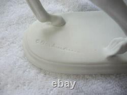 2Kaiser Porcelain Horse # 450 signed Gerhard Bochmann white bisque 9 x 10