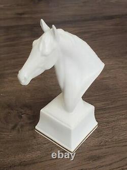 (6) ROYAL WORCESTER Porcelain HORSE HEAD FIGURINE Collection by DORIS LINDNER