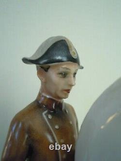 8 HUTSCHENREUTHER-ROSENTHAL Dressage rider Lipizzaner Horse Porcelain figurine