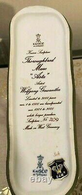 AK Kaiser Thoroughbred Mare Asta Ltd. Ed. By Artist Wolfgang Gawantha