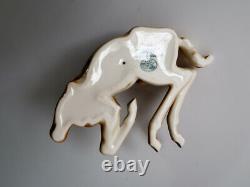 ART DECCO Vintage HUTSCHENREUTHER Germany Porcelain Foal Horse Figurine