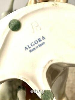 Algora B Spain Porcelain Wild Mustang Horses Figurine