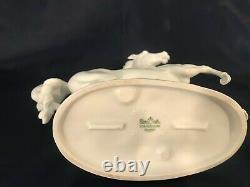 Anique Rosenthal Porcelain Rearing Horse Model 1210