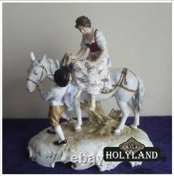 Antique! Karl Ens Vintage Original Statuette Porcelain Figurine Germany Marked