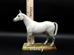 Antique Merely A Minor Royal Doulton England White/grey Horse Figurine #hn2567
