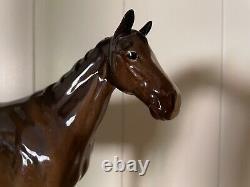 BESWICK MEDIUM HORSE FIGURE FIGURINE 17.5cm HIGH 7 TALL THOROUGHBRED