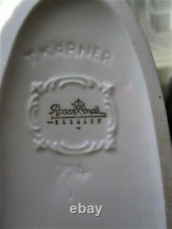 Beautiful Rosenthal Porcelain Rearing Horse Figurine #774, Karner Designed