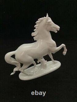 Beautiful Vintage Prof. T. Karner Rosenthal Porcelain Horse No. 1136