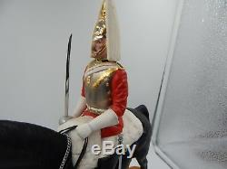 Beswick Life Guard British Horse Figurine Vintage HTF Porcelain