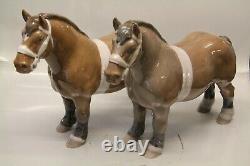 Bing & Grondahl horse B&G 2234 Belgian Stallion