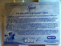 Breyer 2002 SPIRIT Porcelain # 8200, Mint BNIB with COA