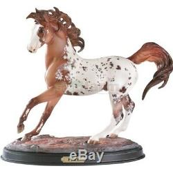 Breyer Fire, Ethereal Collection # 1340, Mint BNIB with COA & base