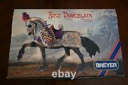 Breyer Great Horse in Armor, Fine Porcelain