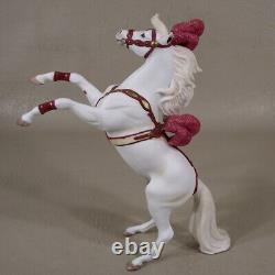 Breyer Porcelain Circus Pony in Costume Rearing Horse Only #1586