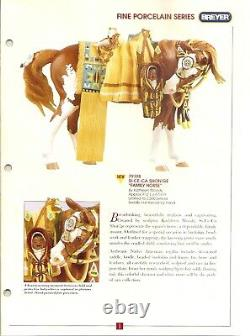 Breyer Si Ce Ca Shon'ge Family Indian Pony, 1998 Fine Porcelain #79198, Mint BNIB