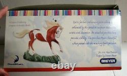 Breyer Spirit Stallion of the Cimarron Collection Porcelain Rain #8201 w Box COA