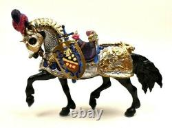 Breyer The Great Horse In Armor #79197 Fine Porcelain Limited Ed. Vintage 1997
