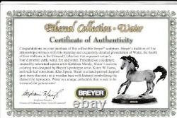 Breyer Water, Ethereal Collection # 1333, Mint BNIB with COA & base