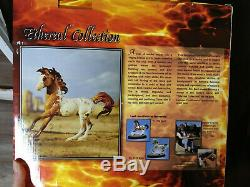 Breyer fire element Ethereal Collection # 1340 near Mint COA & base elemental