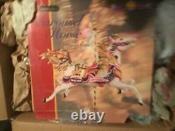 Breyer porcelain Carousel horse musical box figurine