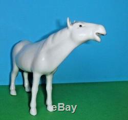 Chinese Export Blanc De Chine Porcelain Horse Figurine China