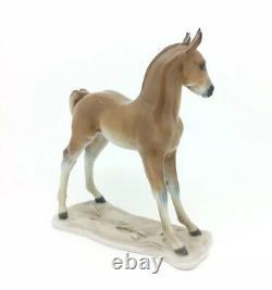Continental German Porcelain Rosenthal Animal Figurine Horse Foal Art Nouveau