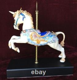Cybis Porcelain Carousel Unicorn #257/325 L/Ed Collectible figurine1986 13.25