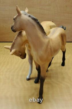 Cybis Porcelain Colts Darby and Joan Figurine
