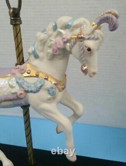 Cybis porcelain sculpture figurine Sugarplum Carousel Horse Perfect 173/750