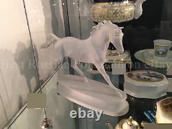 EXCLUSIVE Russian Imperial Lomonosov Porcelain Figurine Arabian Horse Breed Rare