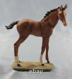 Foal horse porcelainfigurine figurine Kaiser perfect porcelain b