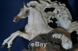 Giuseppe Armani WILD HEARTS Figurine LE # 81 of 3000 Horses Art Decor