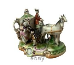 Grafenthal German Porcelain Figures with Horse and Carriage NR 11867
