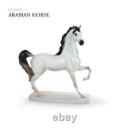 HEREND Hungary Porcelain ARABIAN HORSE 16152(CD) FISHNET BRAND NEW FIGURINE