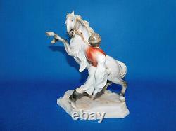 Herend Man training horse figurine porcelain