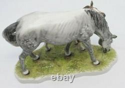 Horse Mare and Foal Figurine SIGNED Goebel Bochmann Germany 1974