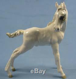 Horse pferd porcelainfigurine figurine Hutschenreuther foal porcelain