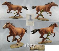 Horse pferd porcelainfigurine figurine Kaiser perfect porcelain b