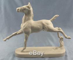 Horse porcelain rosenthal hussmann figurine porcelainfigurine pferd 1957 bis 2