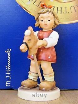 Hummel Figurine JUST HORSIN AROUND HUM 2043/A Goebel PORCELAIN HORSE MIB G026