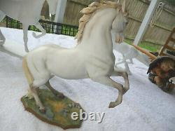 KAISER Porcelain Bisque Horse Capitano Wolfgang Gawantka 713 Beautiful