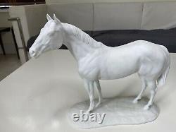 KAISER Porcelain Large RARE Standing Horse/Stallion 11h